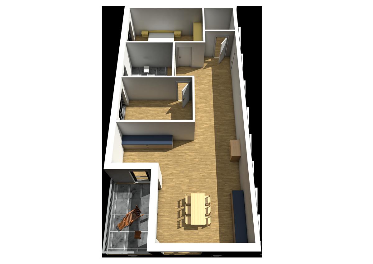 Haus C - Wohnung 6