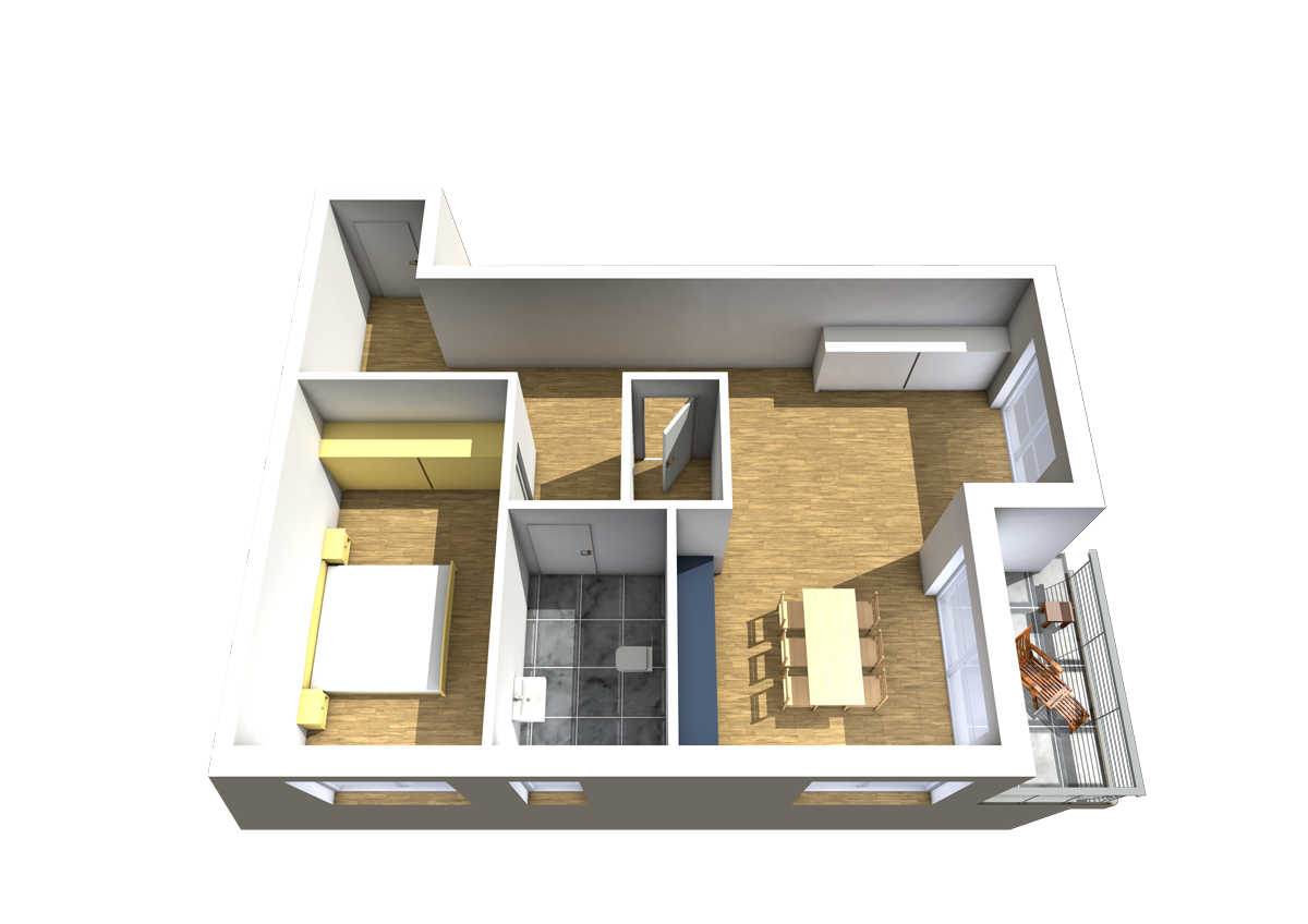 Haus C - Wohnung 5