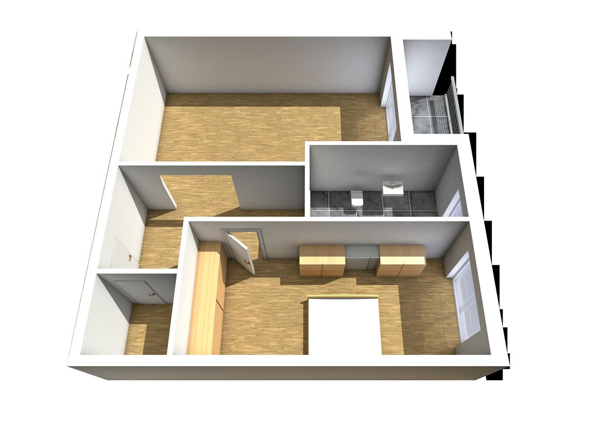 Wohnung 3 Haus C