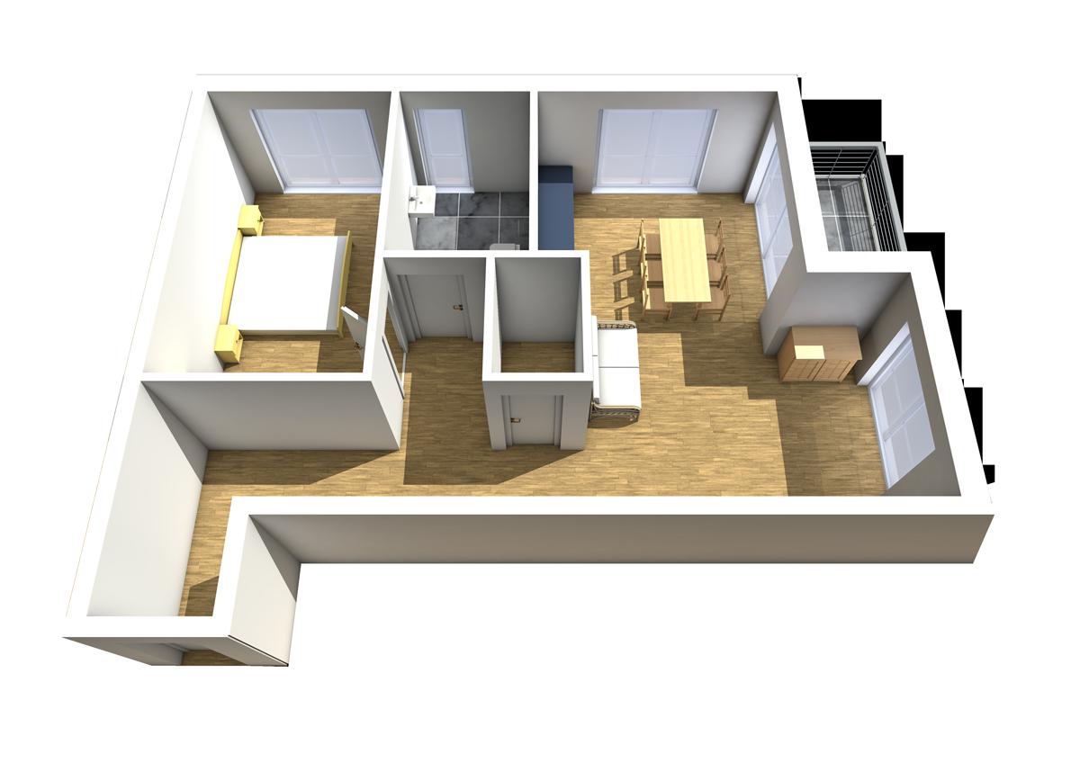 Wohnung 2 Haus C