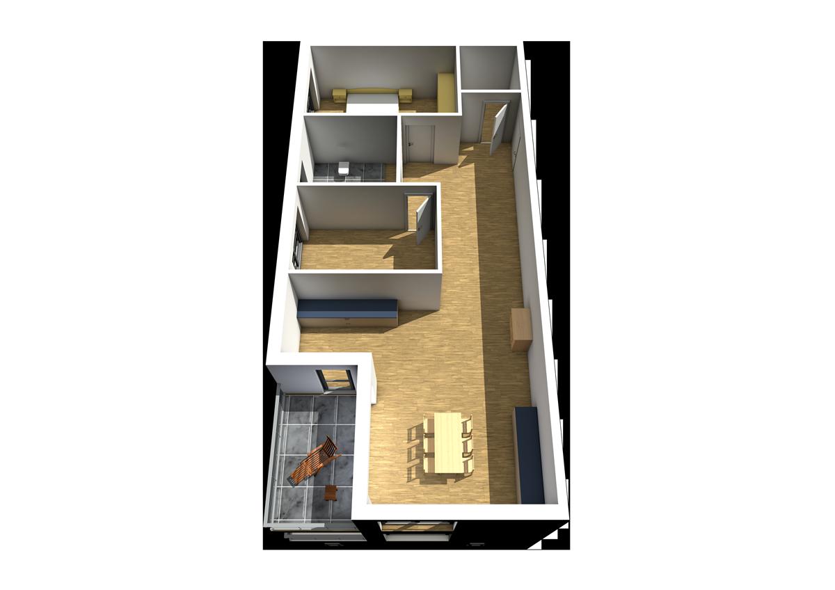 Haus C - Wohnung 12