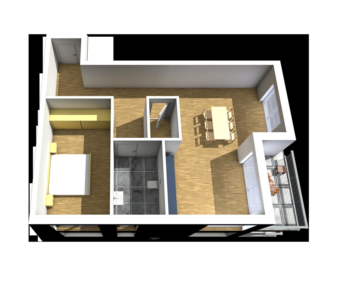 Haus C - Wohnung 11