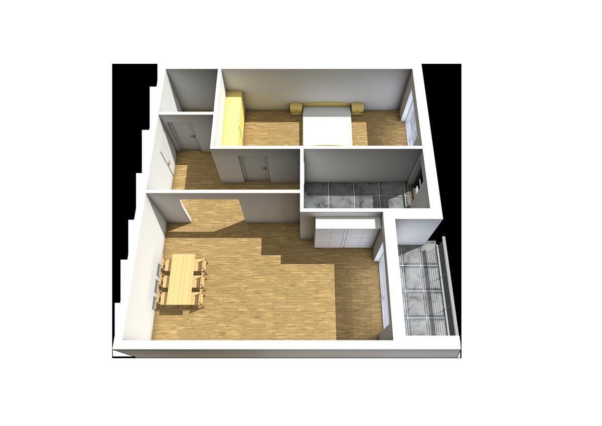 Haus C - Wohnung 10