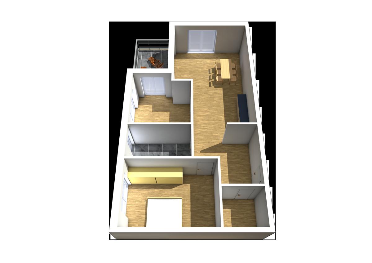 Haus C - Wohnung 7