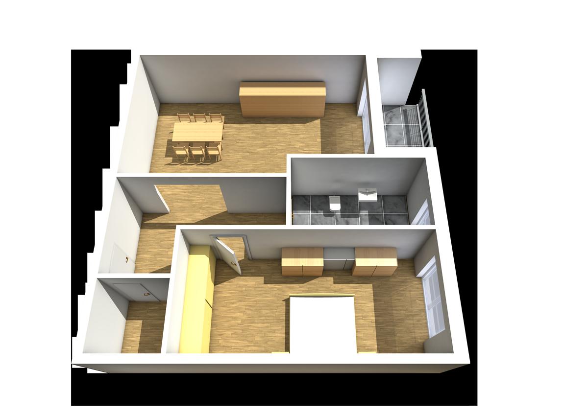 Haus C - Wohnung 9