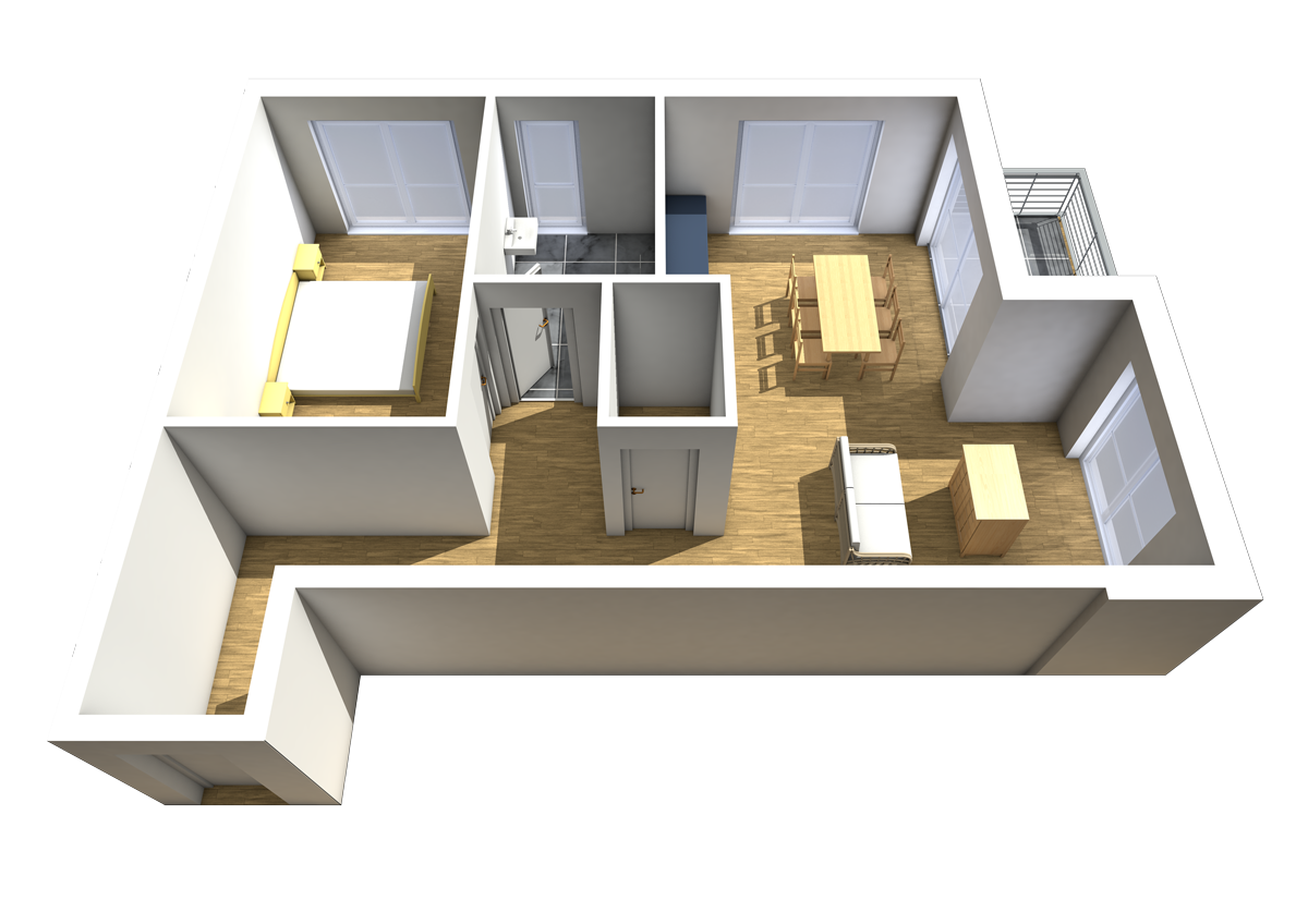 Haus C - Wohnung 8
