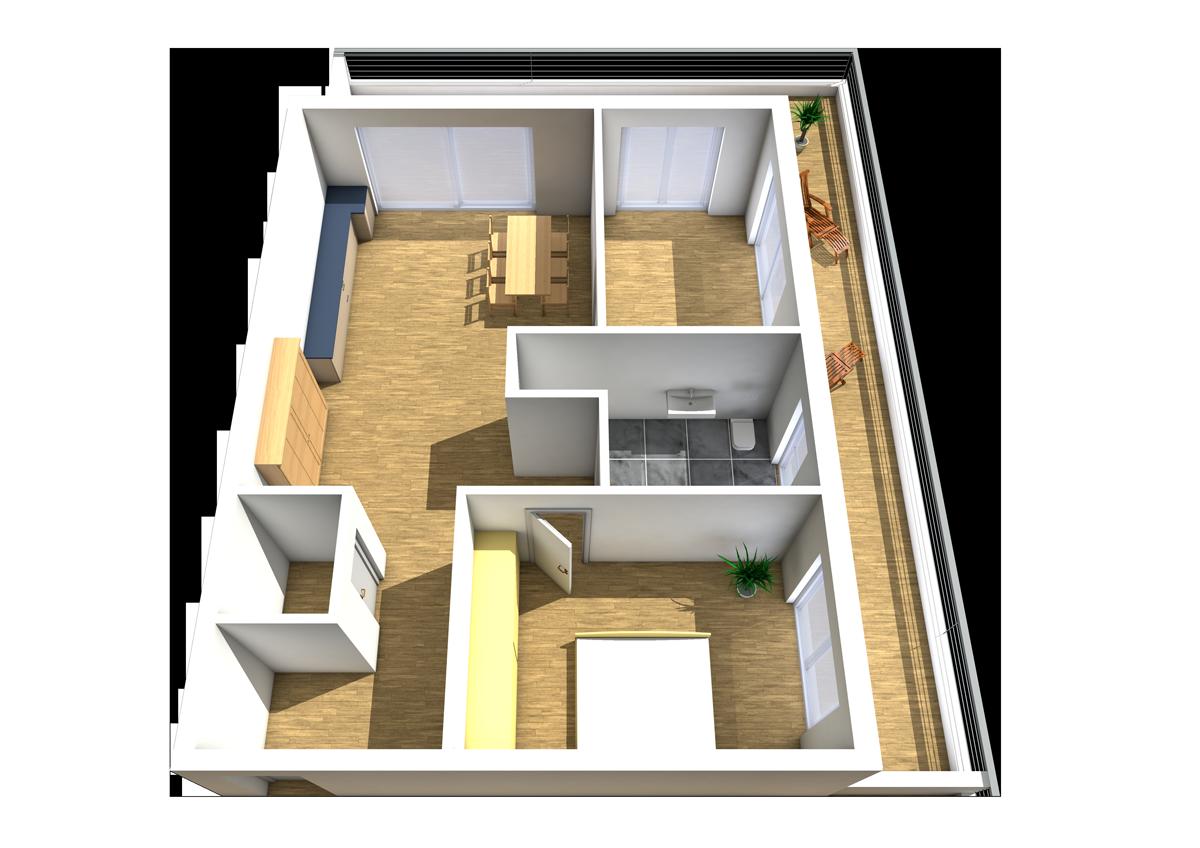 Haus C - Wohnung 14