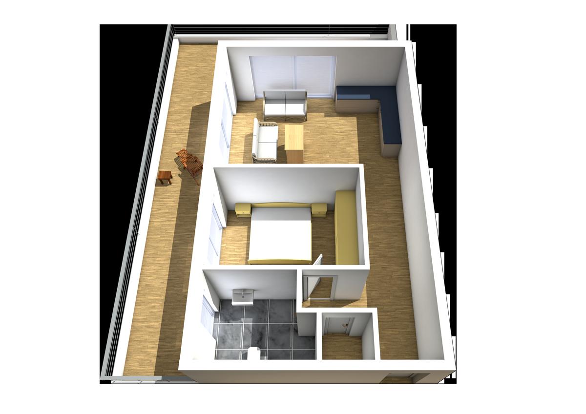 Haus C - Wohnung 13