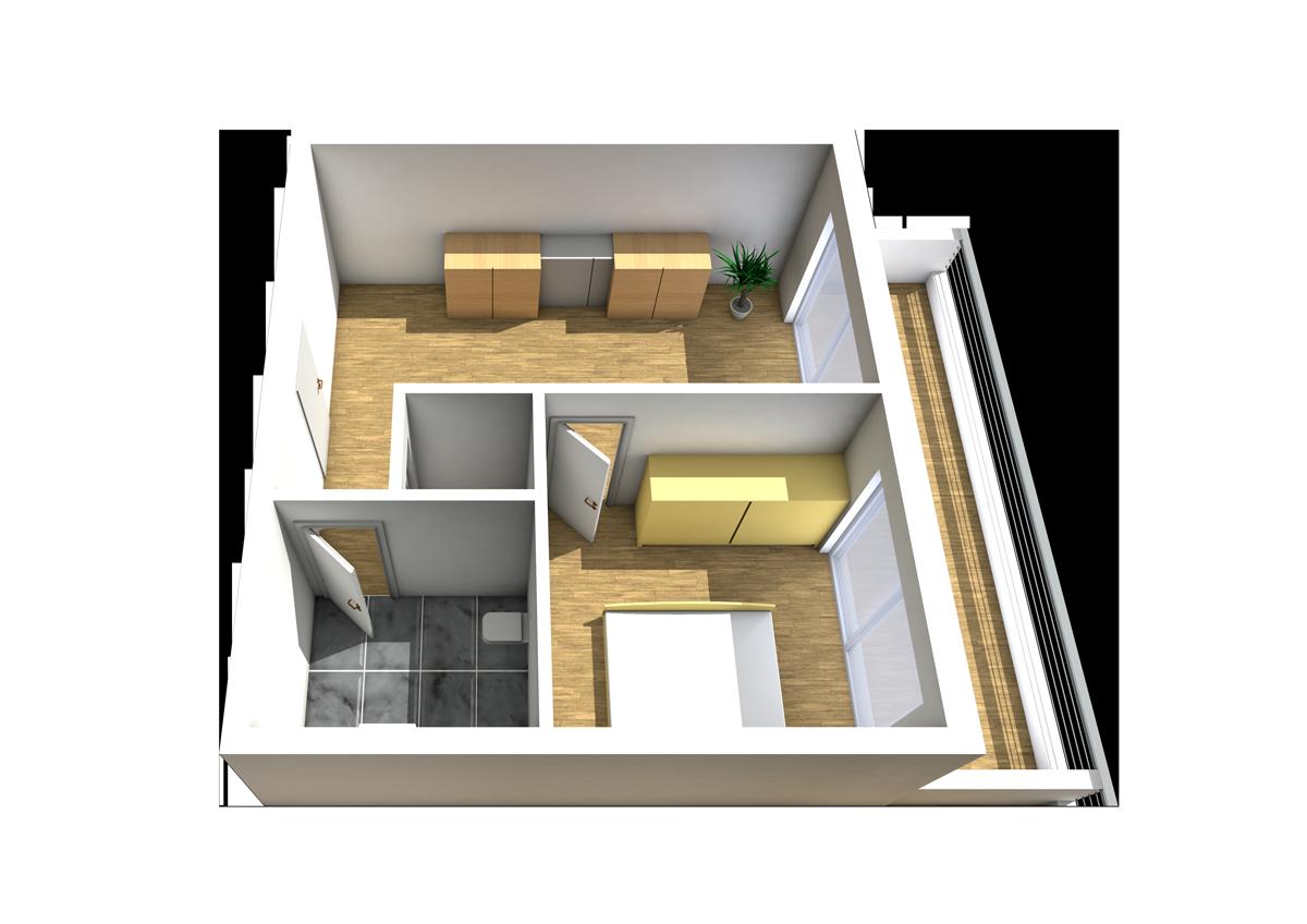 Haus C - Wohnung 15