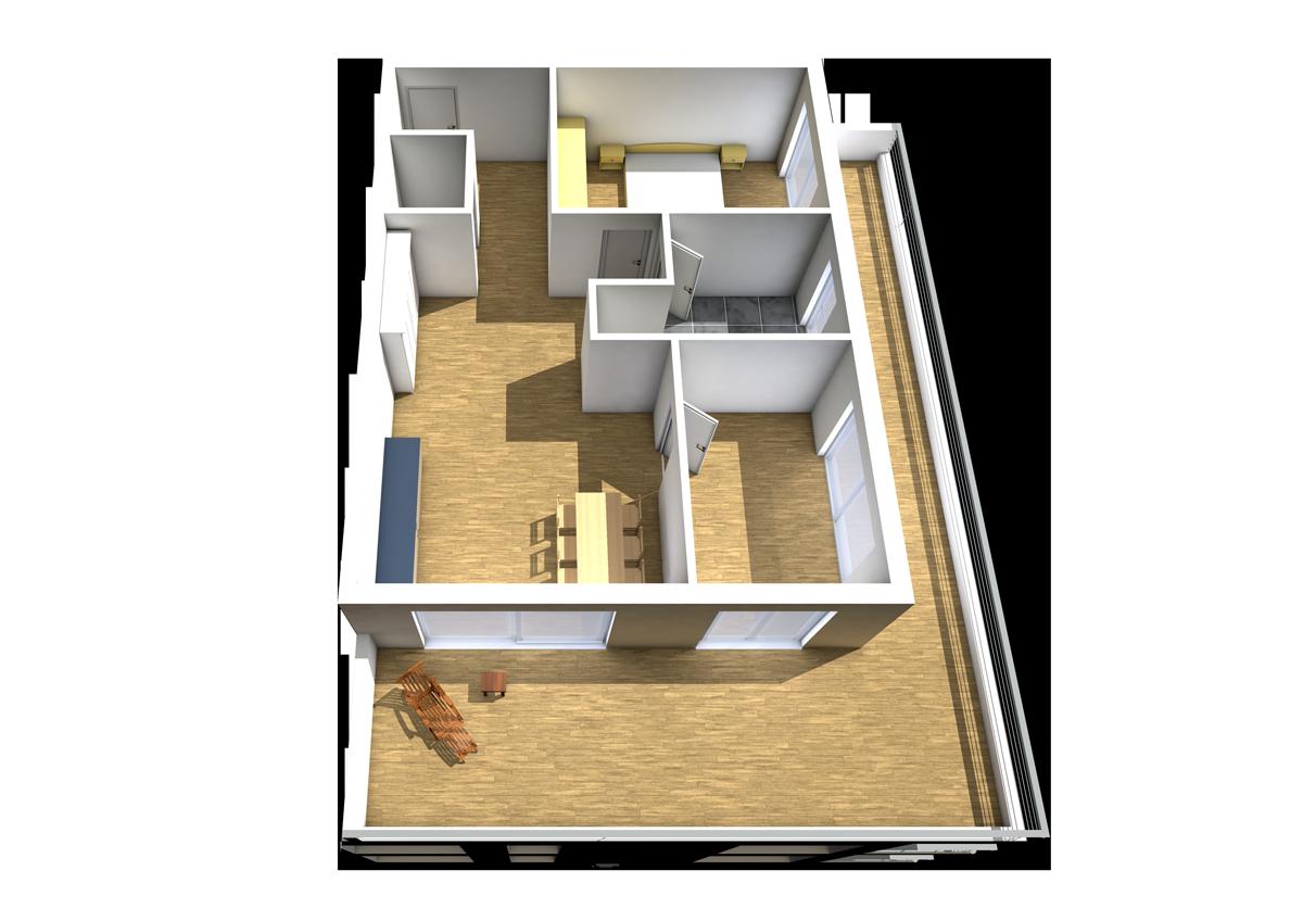 Haus C - Wohnung 16